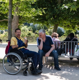Pascal Bonnet - Ballade au Jardin des plantes GEM de Rungis 13-06-2017
