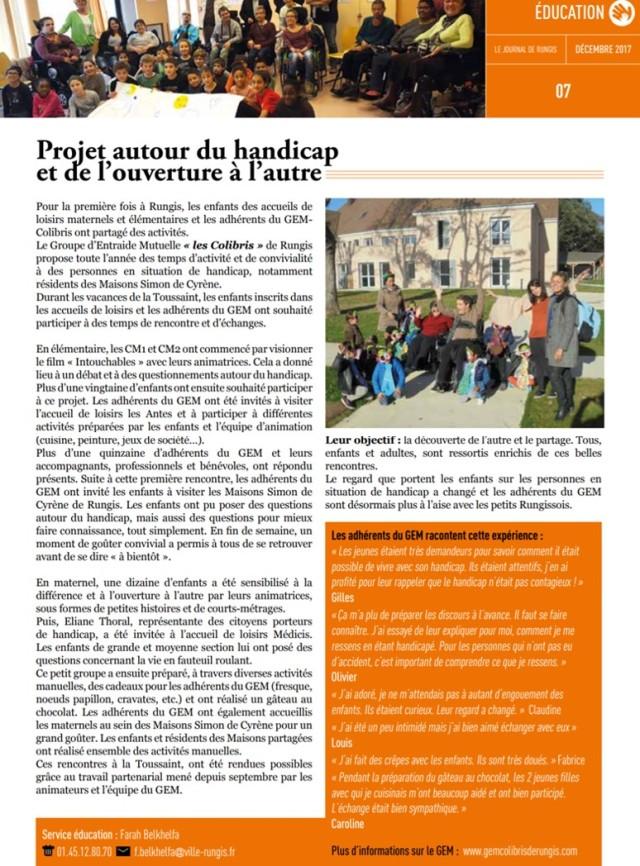 article ville décembre 2017