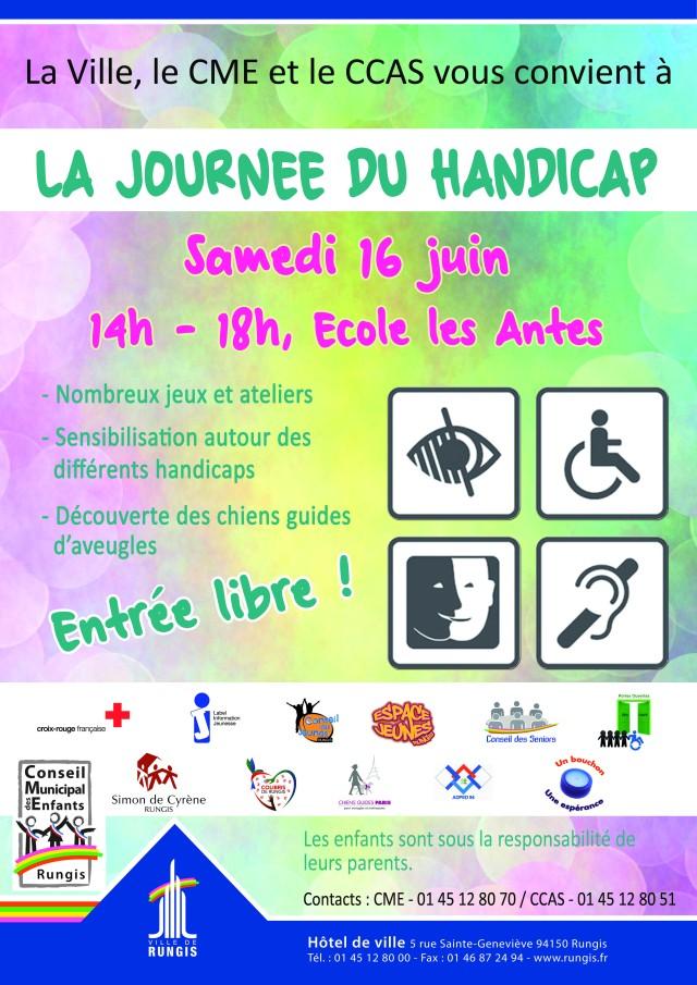 Affiche journée Handicap 2018
