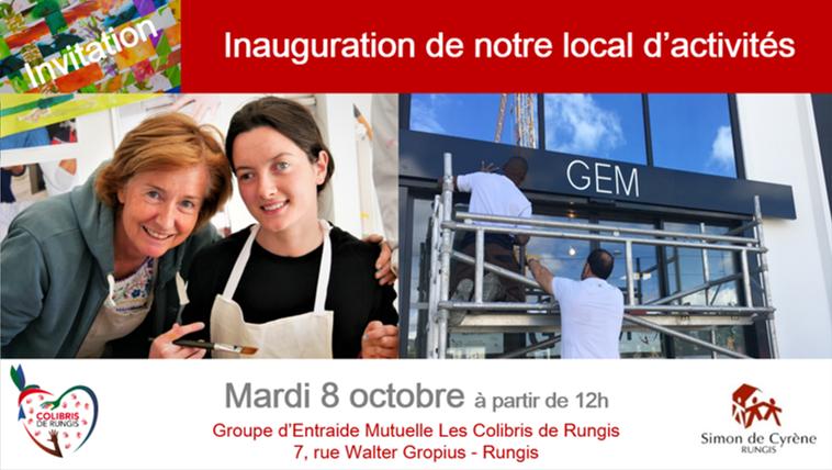 Inauguration GEM 8 octobre