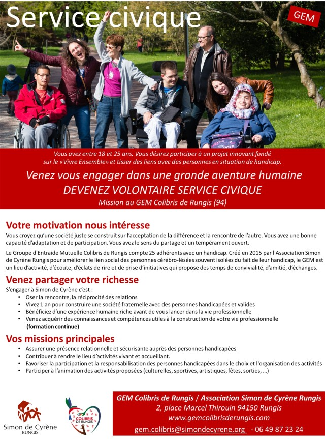 offre volontariat